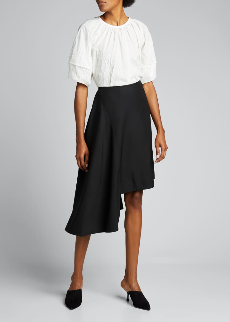 Lucie Asymmetric Skirt