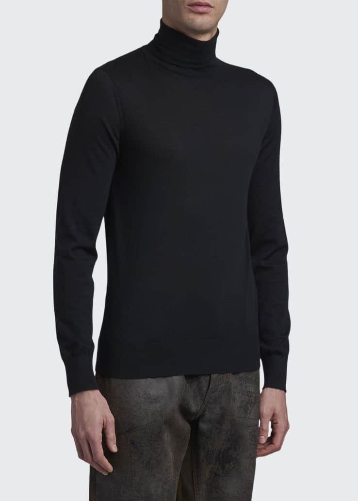 Men's DNA Cashmere Turtleneck Sweater