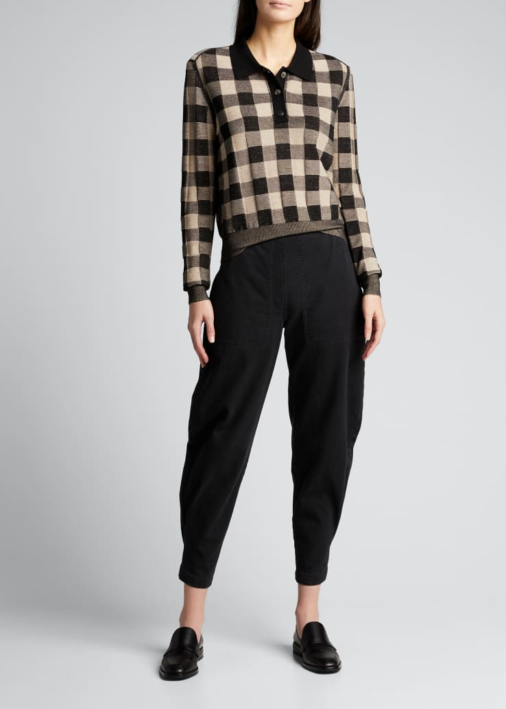 Transit Cotton Ankle Pants