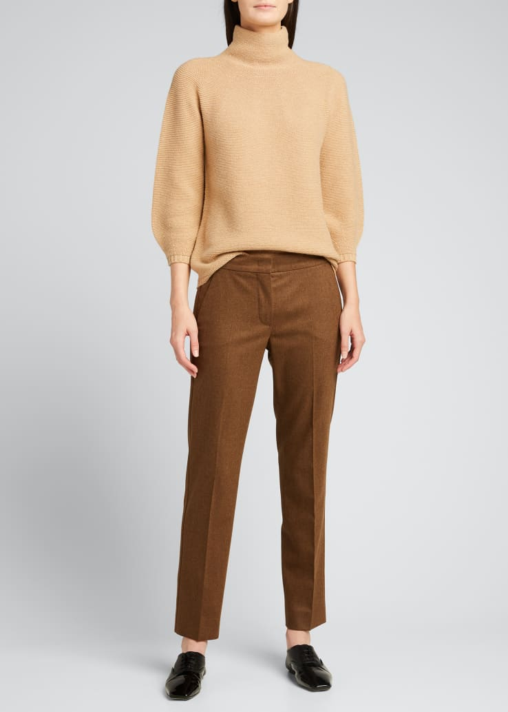 Etrusco Wool-Cashmere High-Neck Sweater
