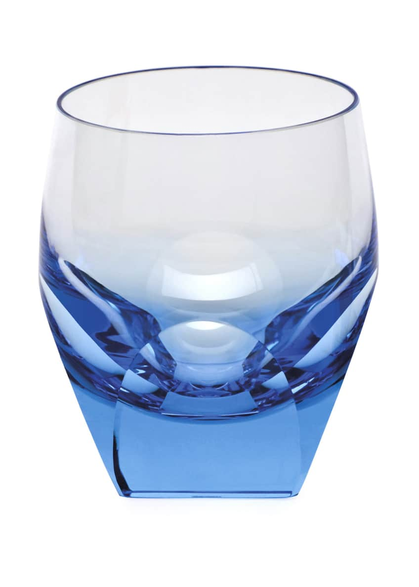 Moser Aquamarine Bar Double Old-Fashioned