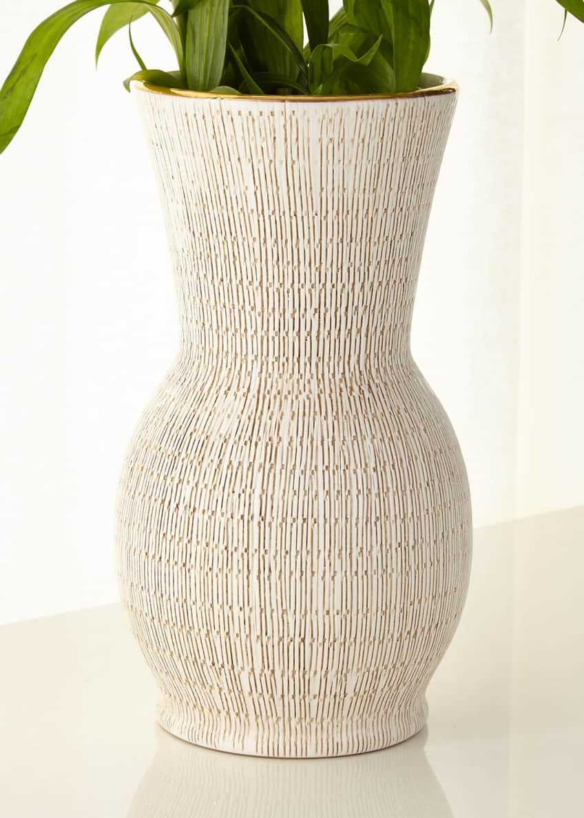 AERIN Amelie Hourglass Vase