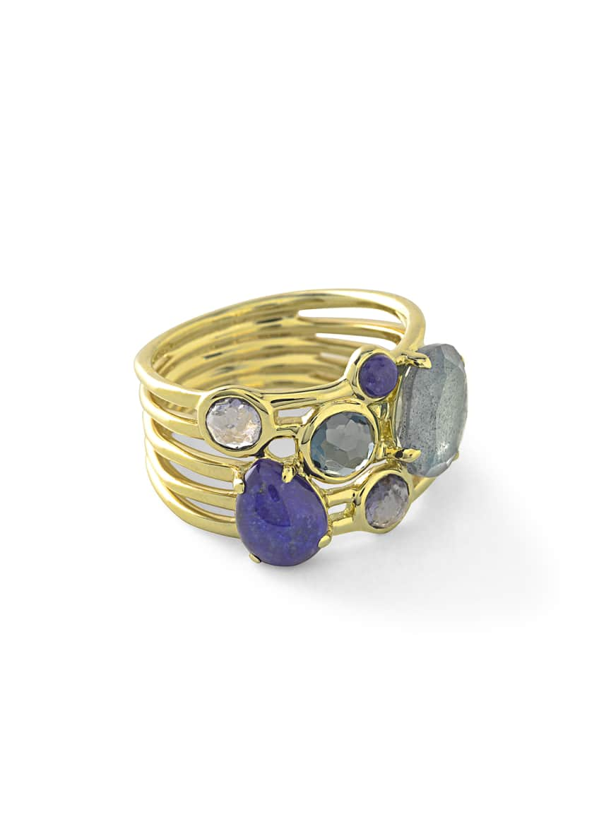 Ippolita 18k Rock Candy Gelato 6-Stone Cluster Ring