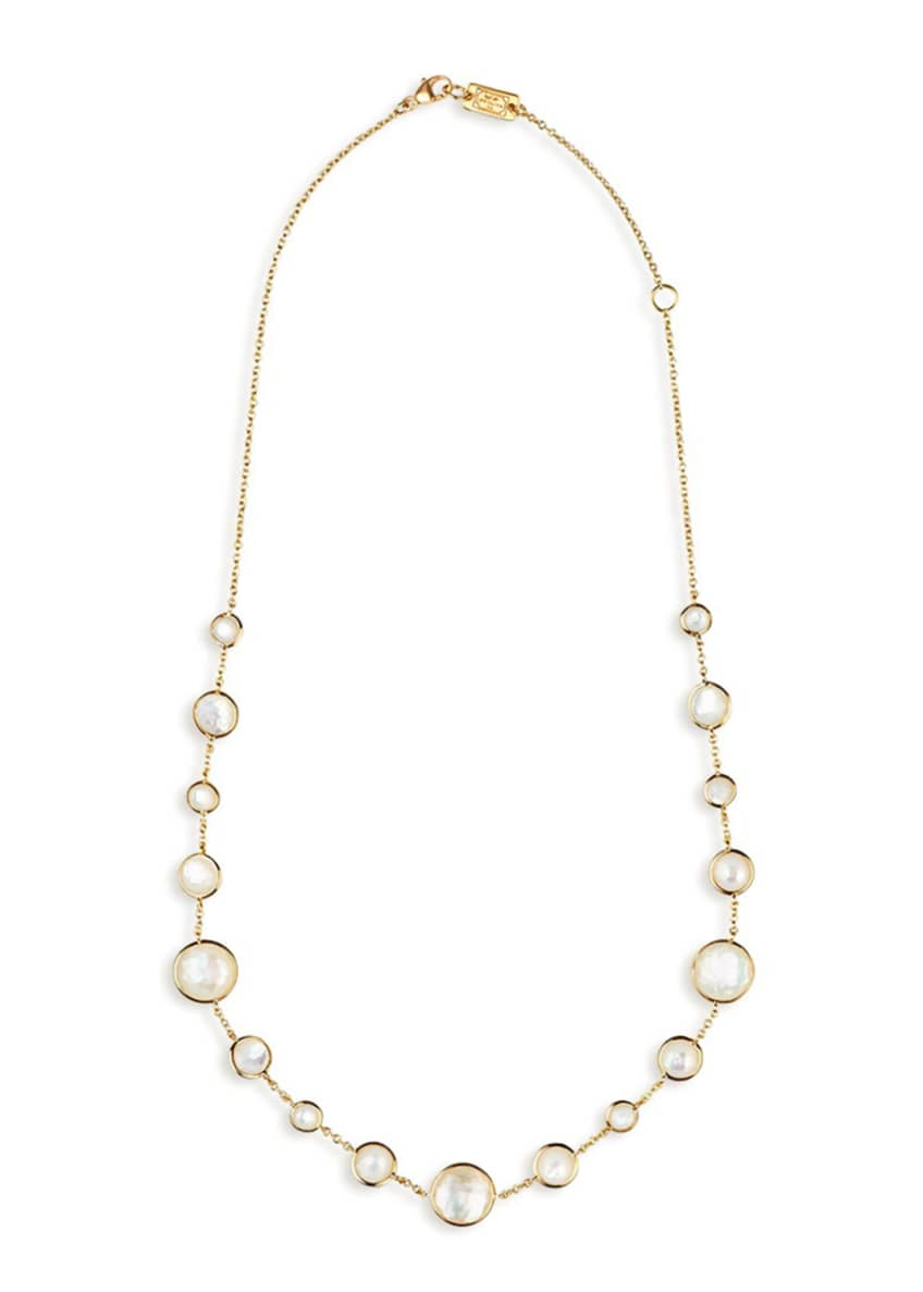 Image 2 of 2: 18k Gold Rock Candy Lollitini Necklace 16-18""