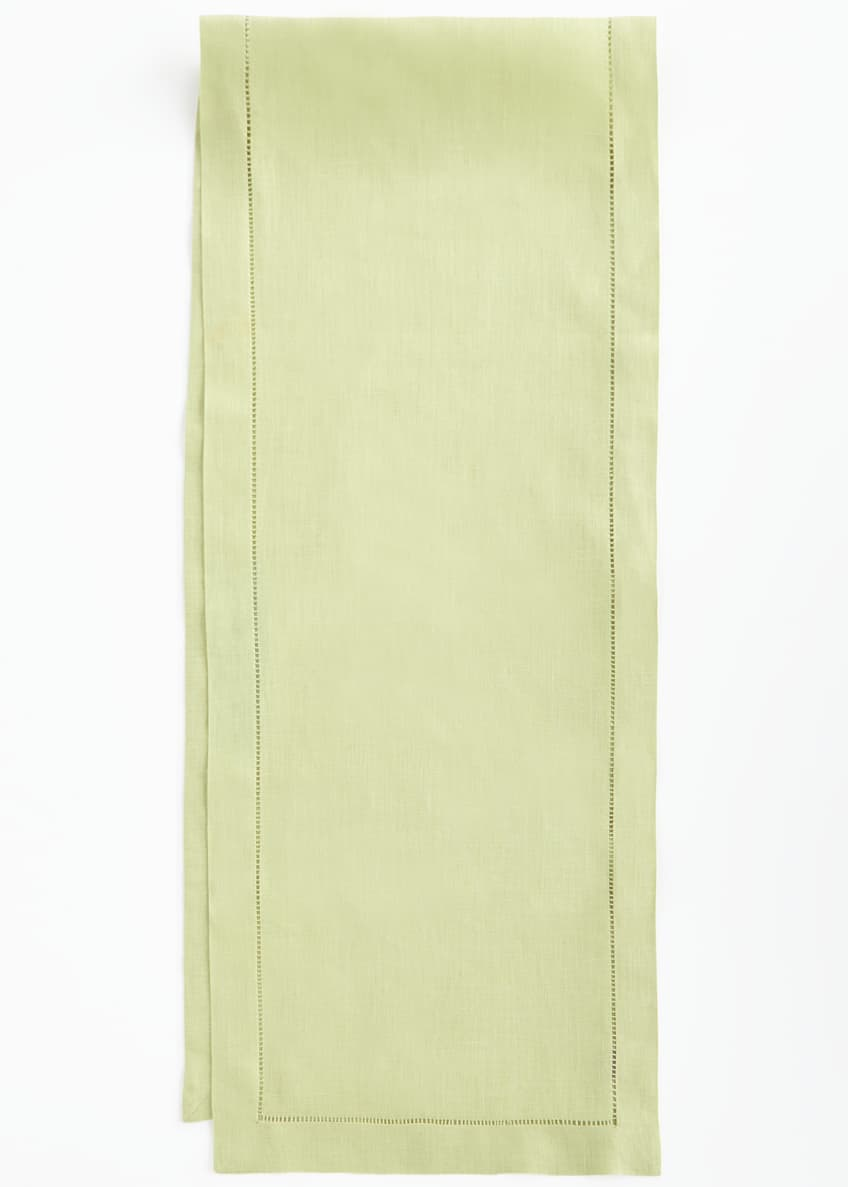 "Image 2 of 2: Hemstitch Table Runner, 15"" x 72"""