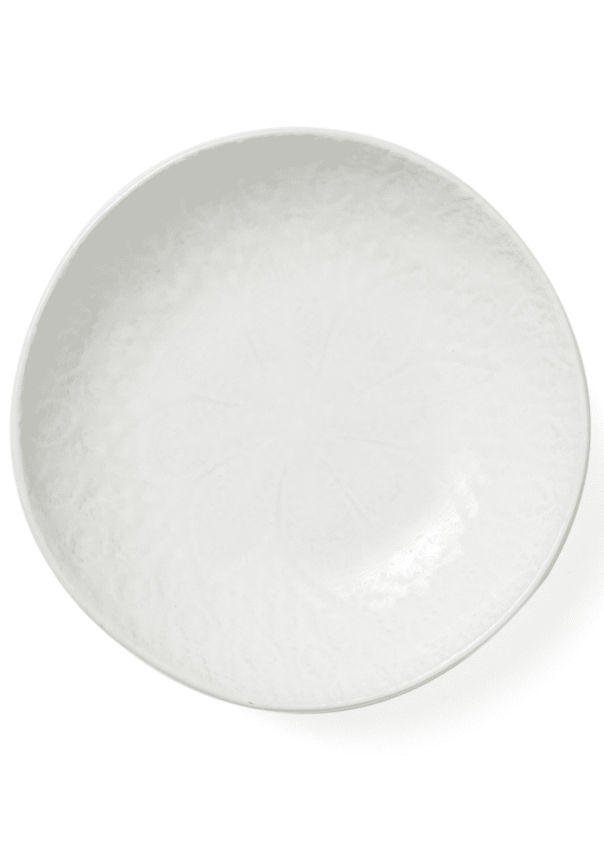 Vietri Lace White Pasta Bowl