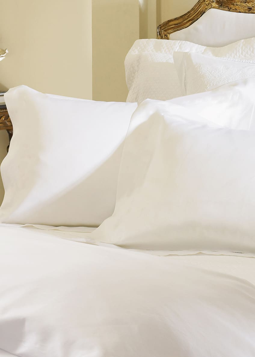 Image 2 of 2: Two King Giza 45 Sateen Pillowcases