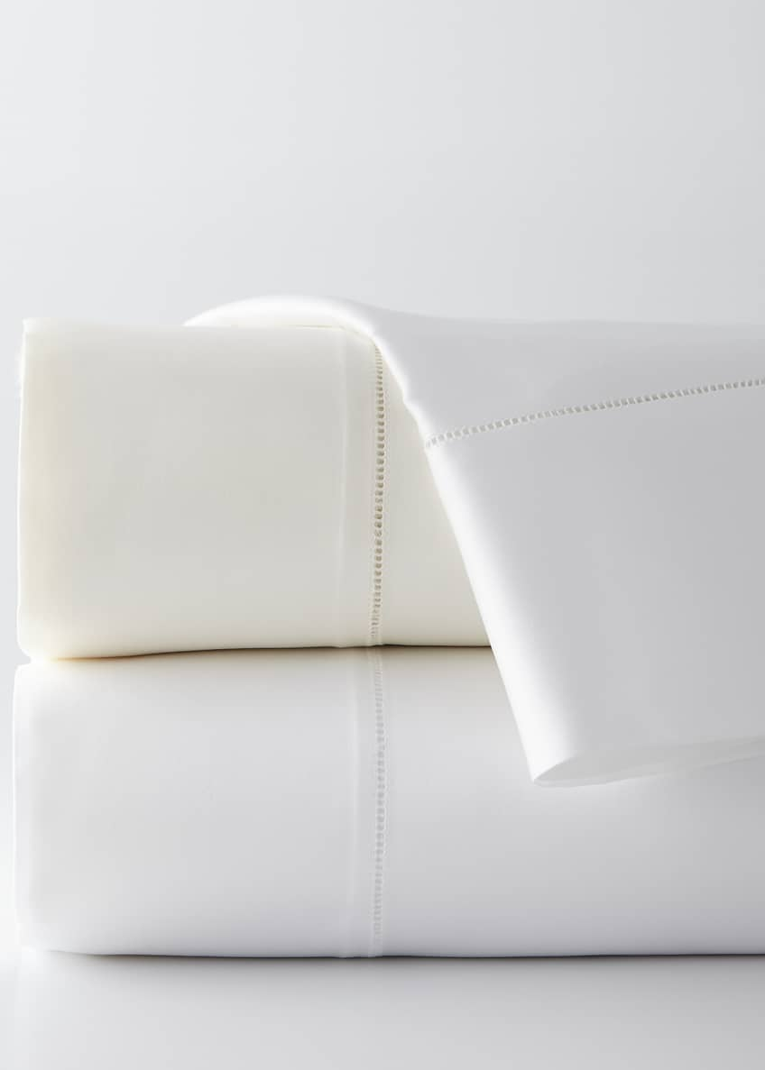 Image 1 of 2: Two King Giza 45 Sateen Pillowcases