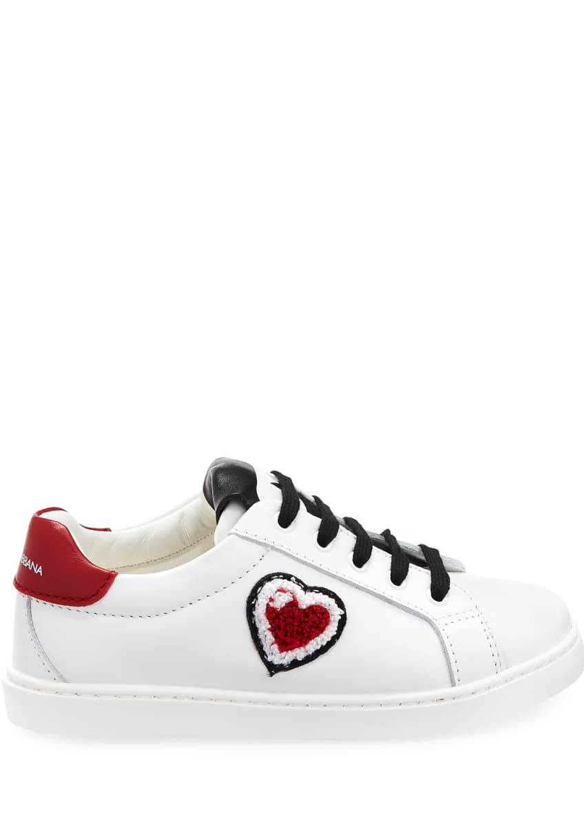 Image 5 of 5: Heart Love Sneakers, Youth