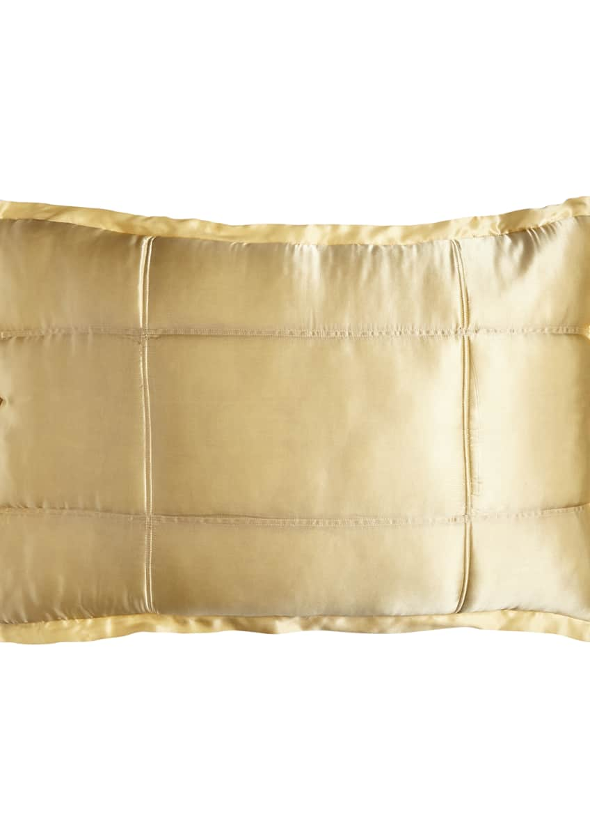 Image 1 of 2: Reflection Standard Quilted Silk Sham