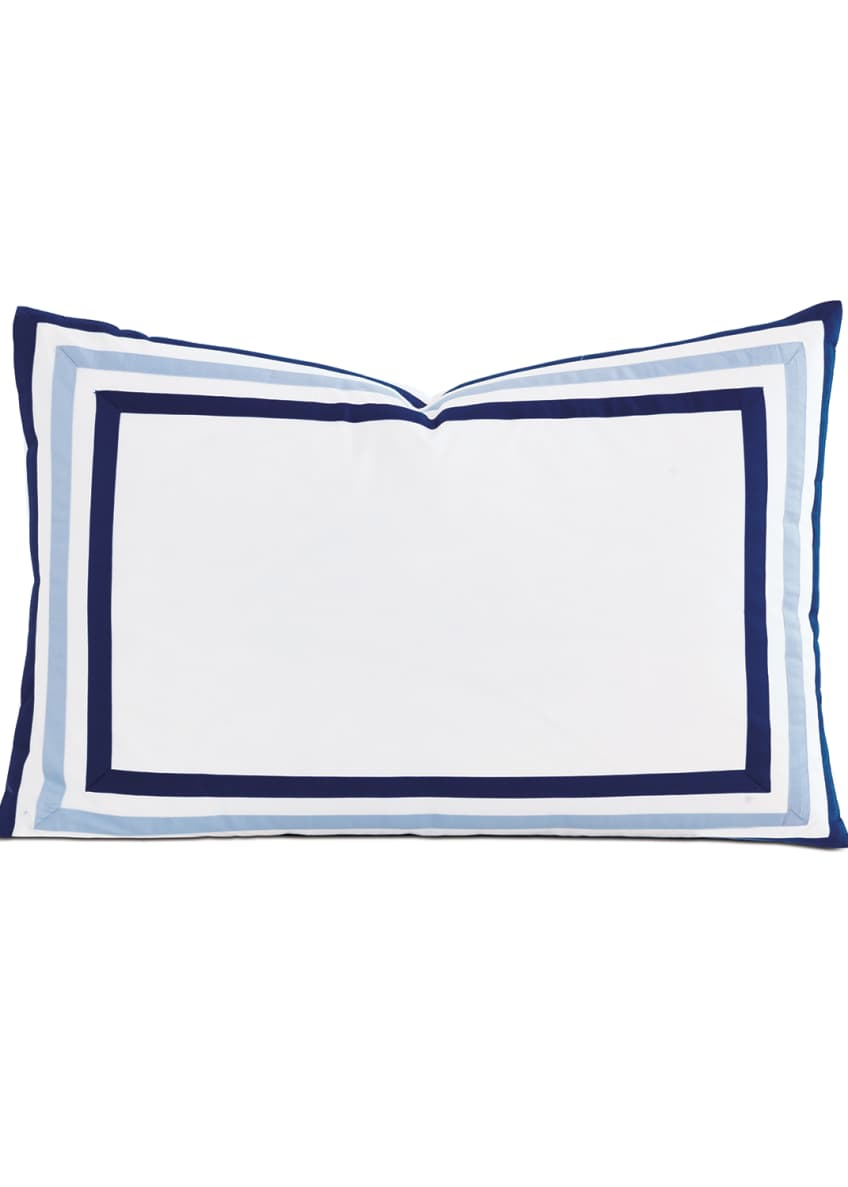 Image 1 of 1: Watermill Indigo Queen Sham