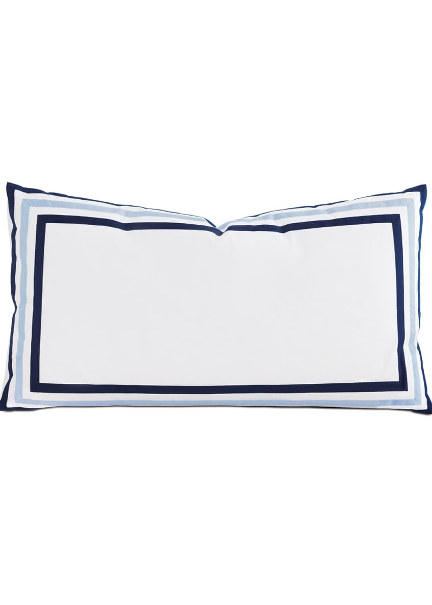 Image 1 of 1: Watermill Indigo King Sham