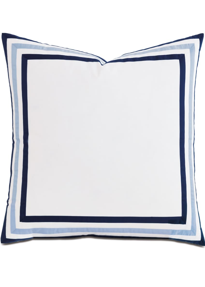 Image 1 of 1: Watermill Indigo European Sham
