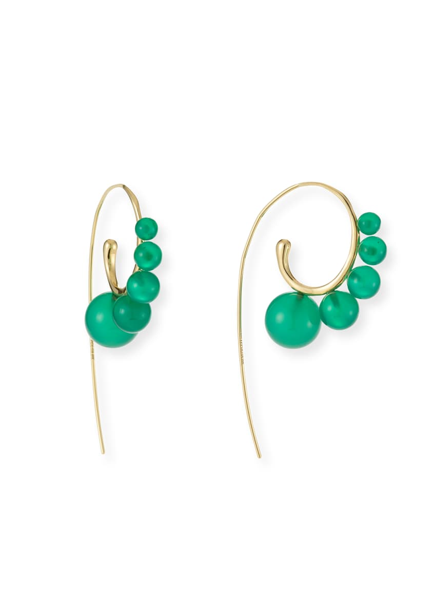 Ippolita 18k Gold Nova Wire Earrings