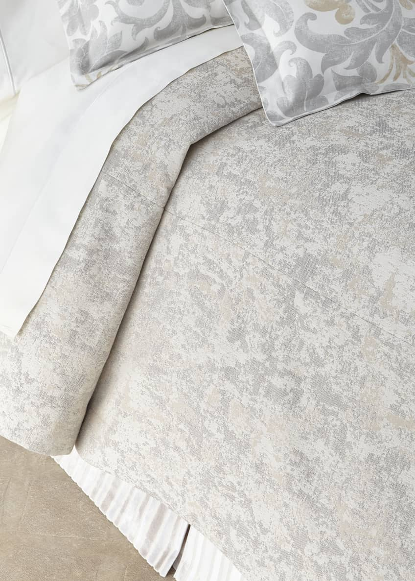 Image 1 of 1: Le Monte Marble Queen Coverlet