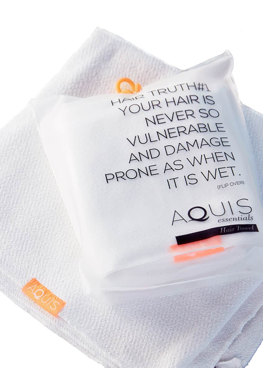 Image 4 of 4: Lisse Luxe Hair Towel