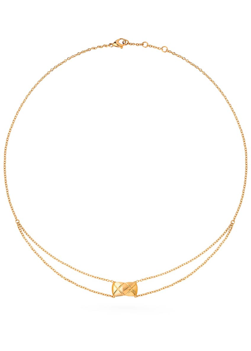 Image 1 of 1: COCO CRUSH PENDANT IN 18K YELLOW GOLD
