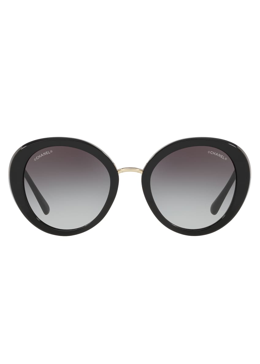Image 2 of 2: ROUND SUNGLASSES