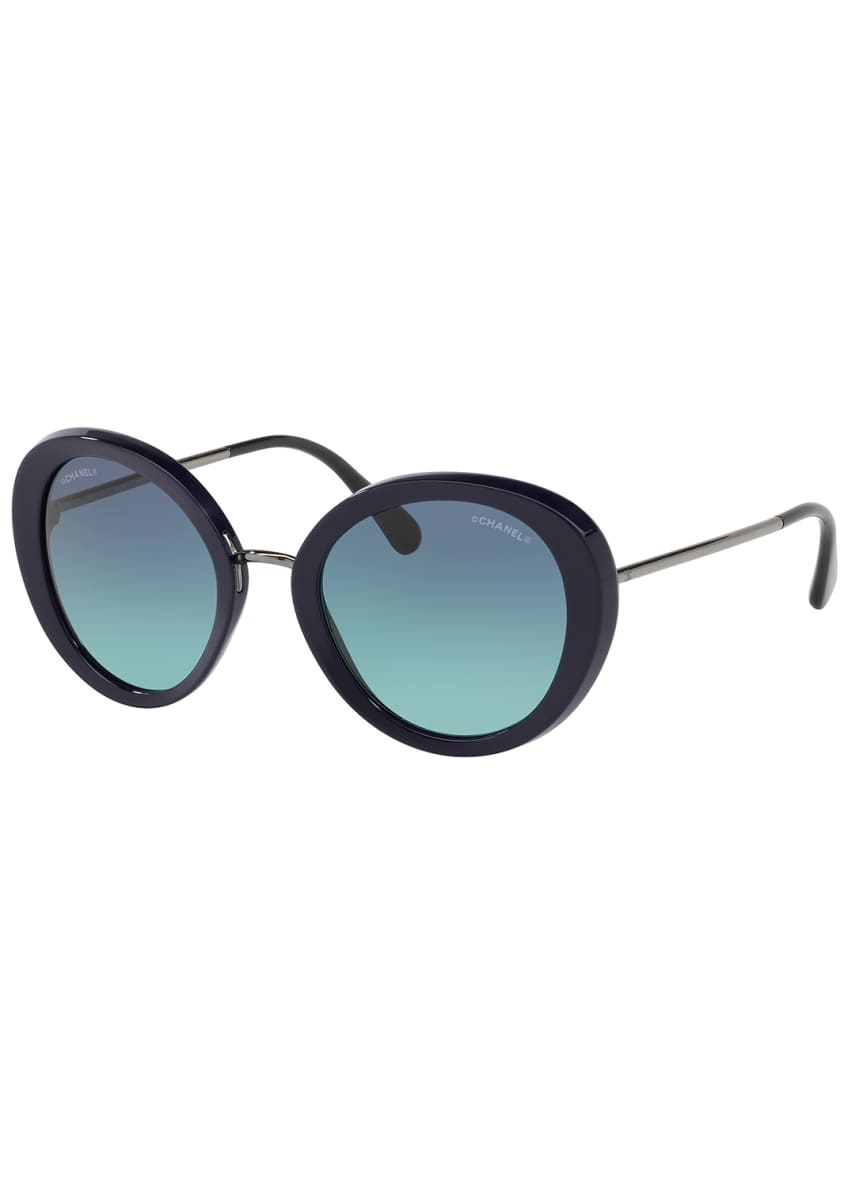 Image 1 of 2: ROUND SUNGLASSES