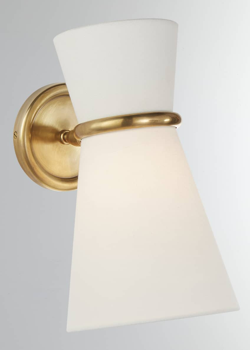 AERIN Clarkson Small Single Pivoting Sconce Light