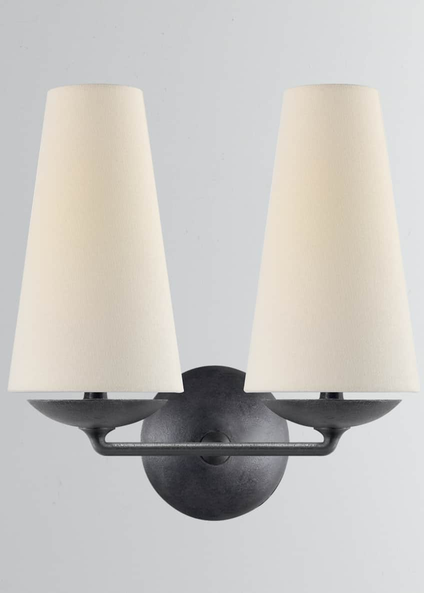 AERIN Fontaine Double Sconce
