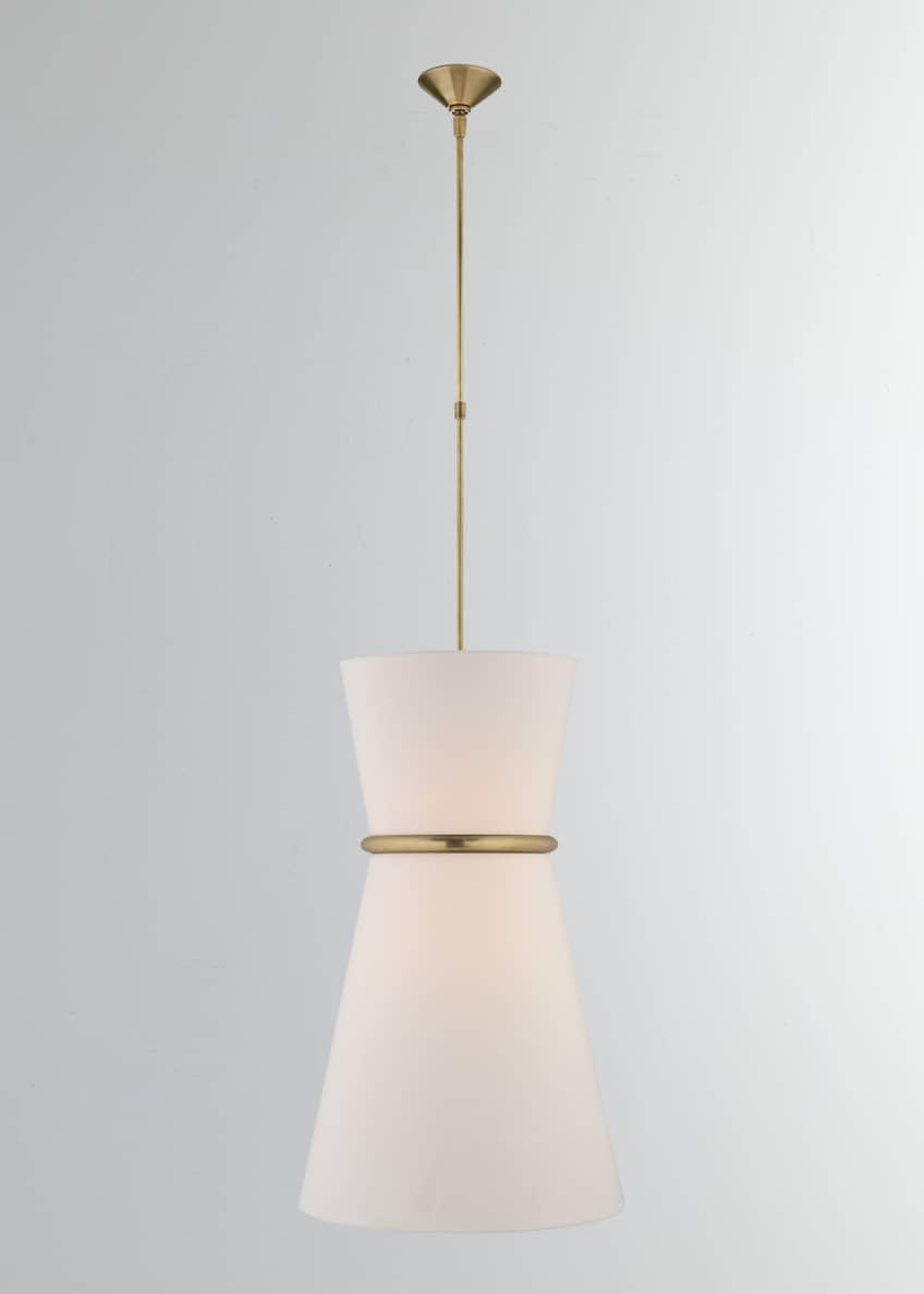 AERIN Clarkson Large Single Pendant Light