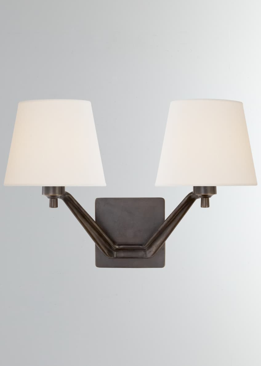 AERIN Union Double-Arm Sconce