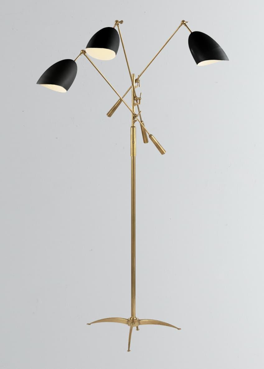 AERIN Sommerard Triple-Arm Floor Lamp