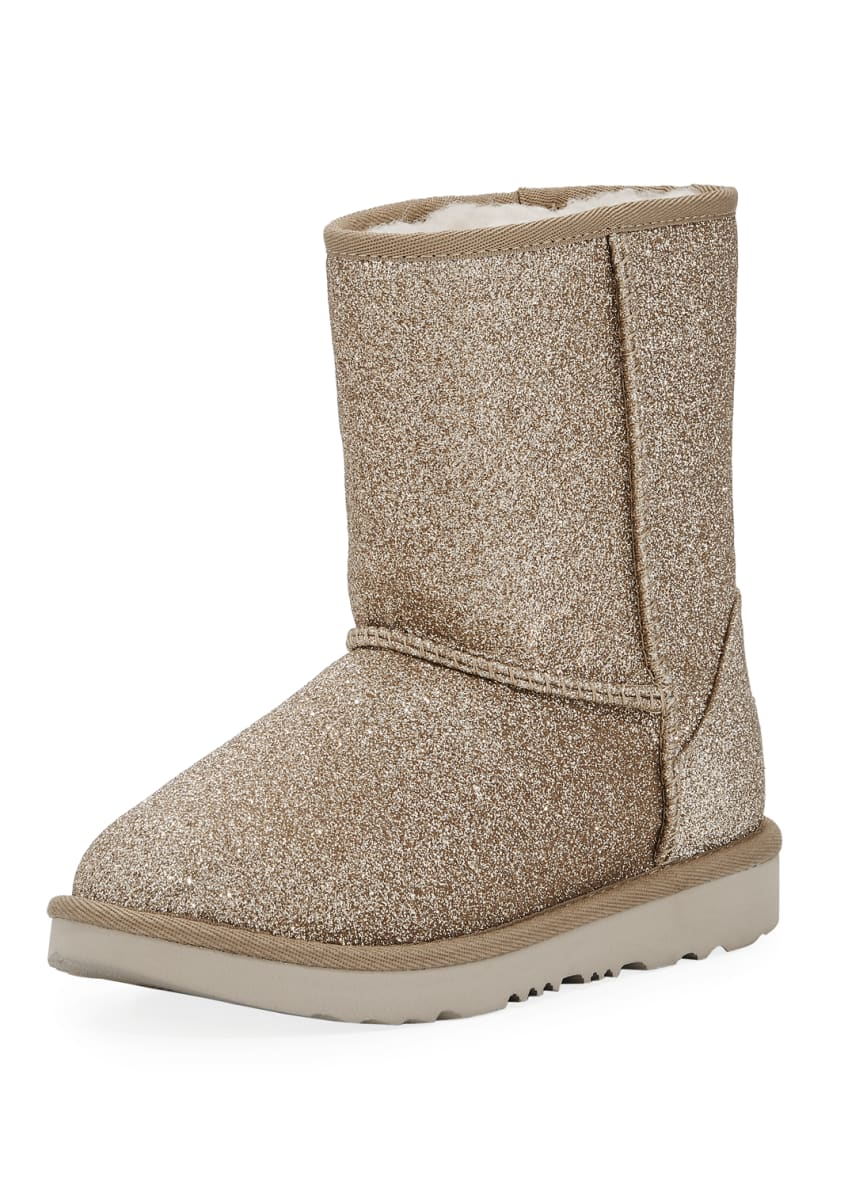 UGG Classic Short II Glitter Boot, Toddler &