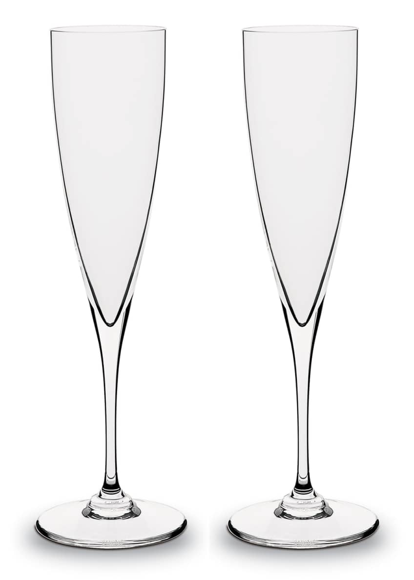 Baccarat Dom Perignon Champagne Flutes & Matching Items