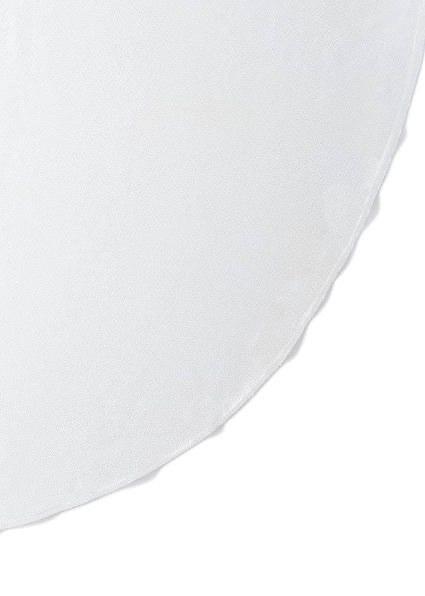 SFERRA Easy Care Round Tablecloth, 106