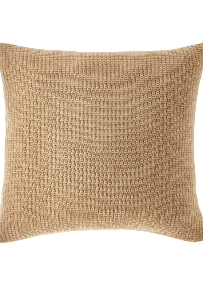 Image 2 of 3: Chunky Knit Decorative Pillow