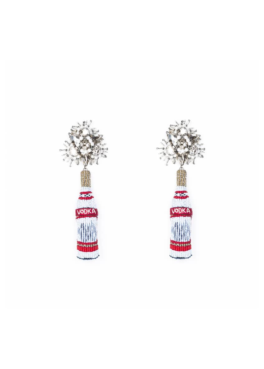 Mignonne Gavigan Vodka Beaded Drop Earrings