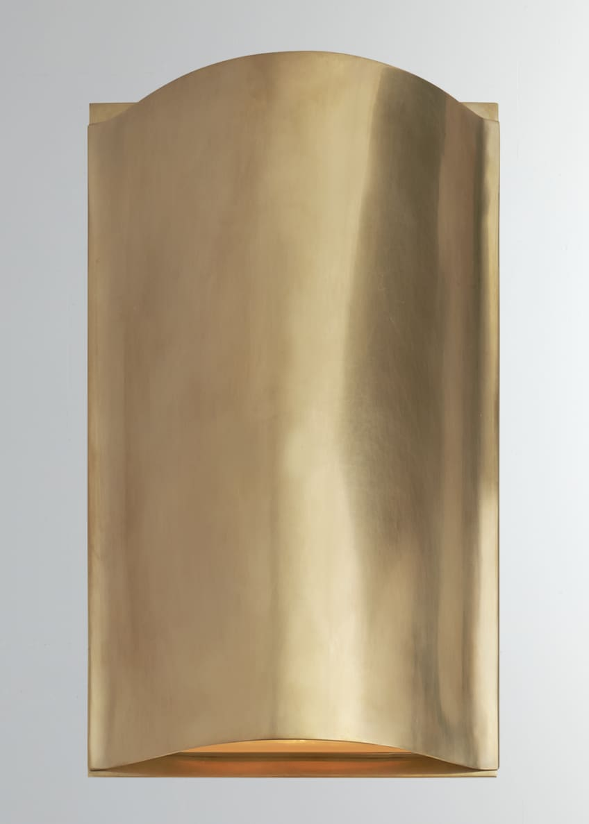 Image 1 of 1: Avant Small Curve Sconce