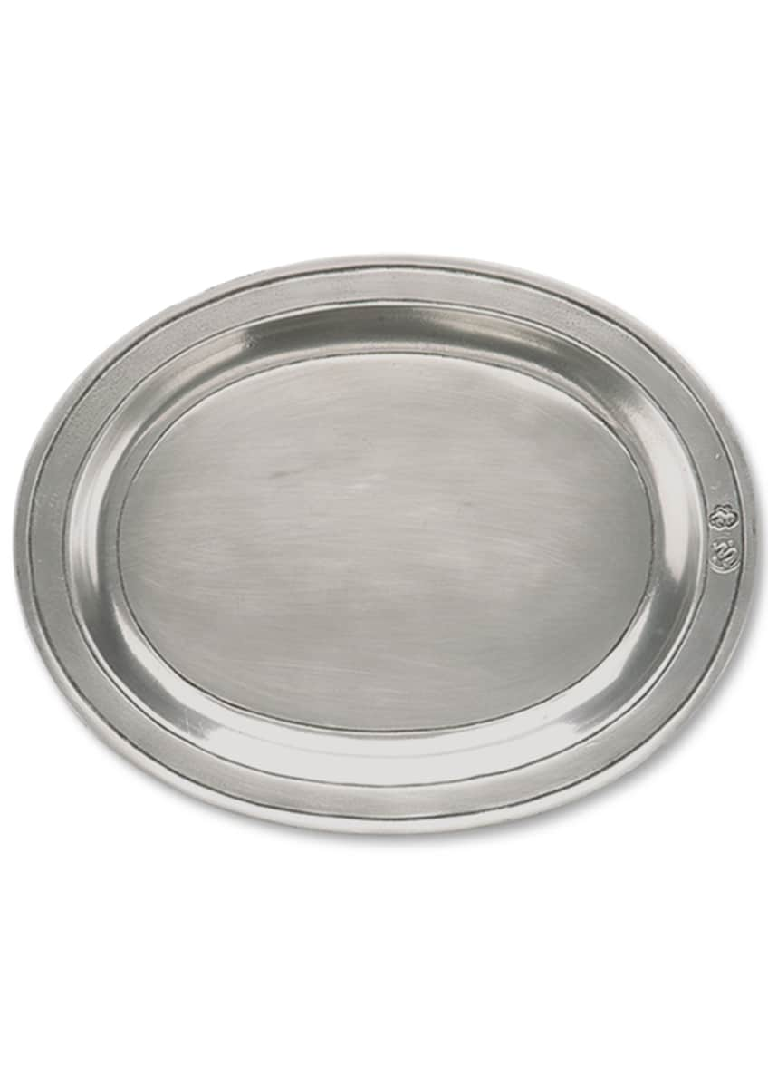 Image 1 of 1: Small Oval Incised Tray