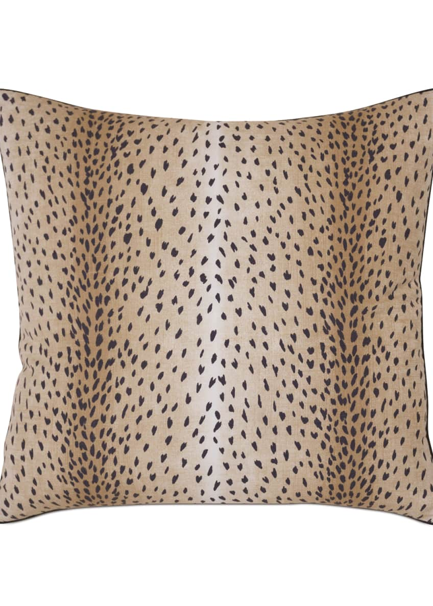 Image 1 of 1: Sloane Animal-Print Euro Sham