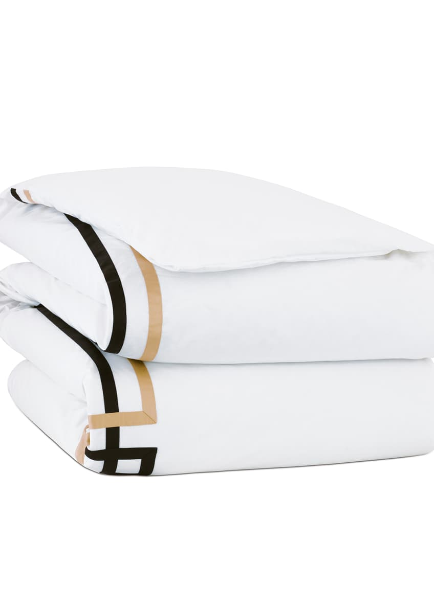 Image 1 of 2: Sloane Oversized Queen Duvet Cover