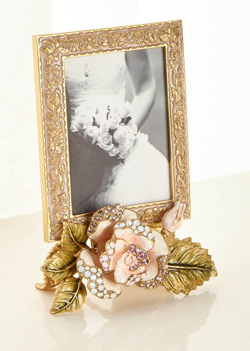 Jay Strongwater Rose Frame, 3