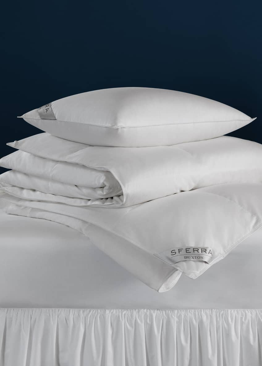 Image 1 of 1: 600-Fill European Down Firm Queen Pillow