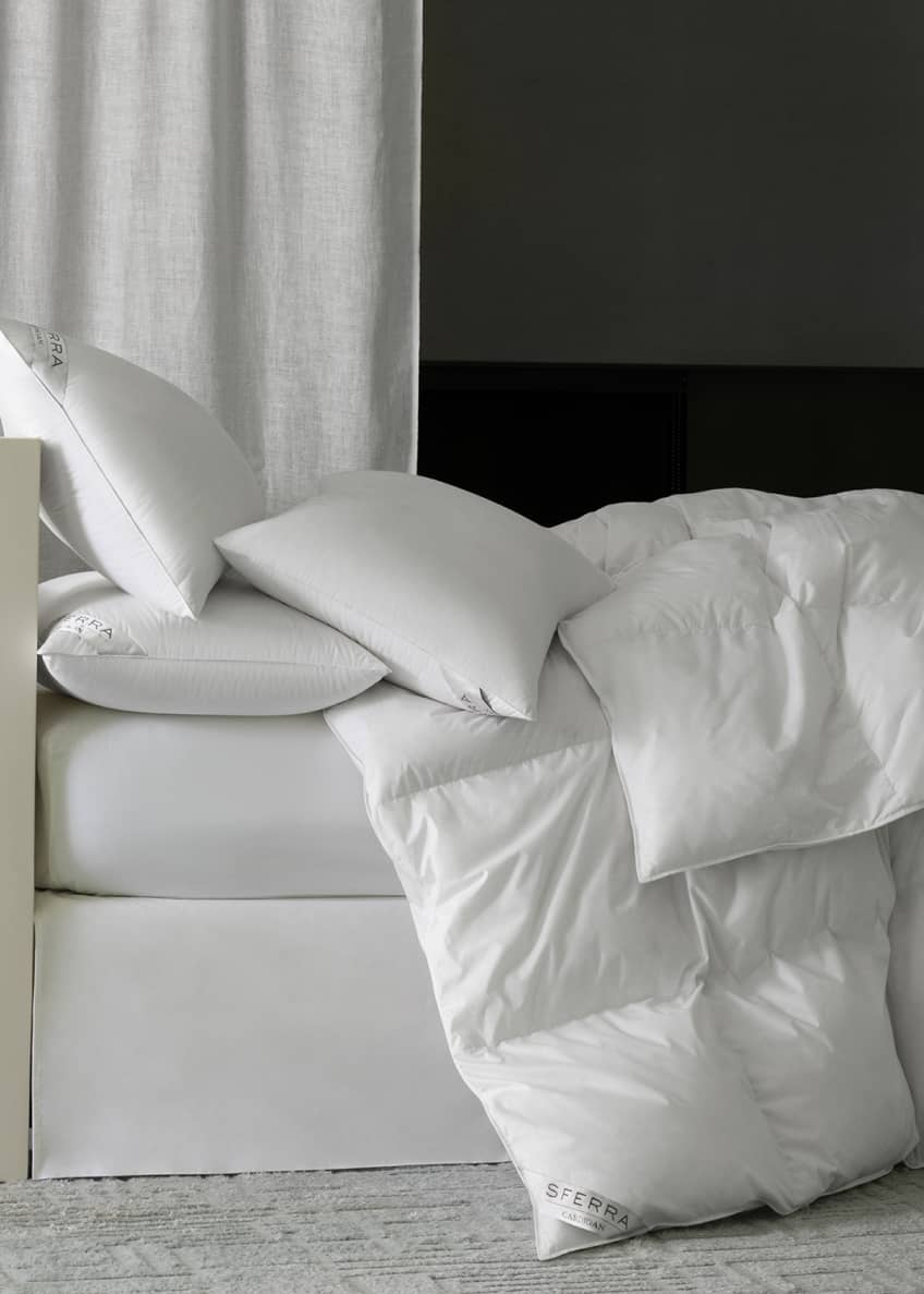 Image 1 of 2: 800-Fill European Down Medium Weight Queen Duvet
