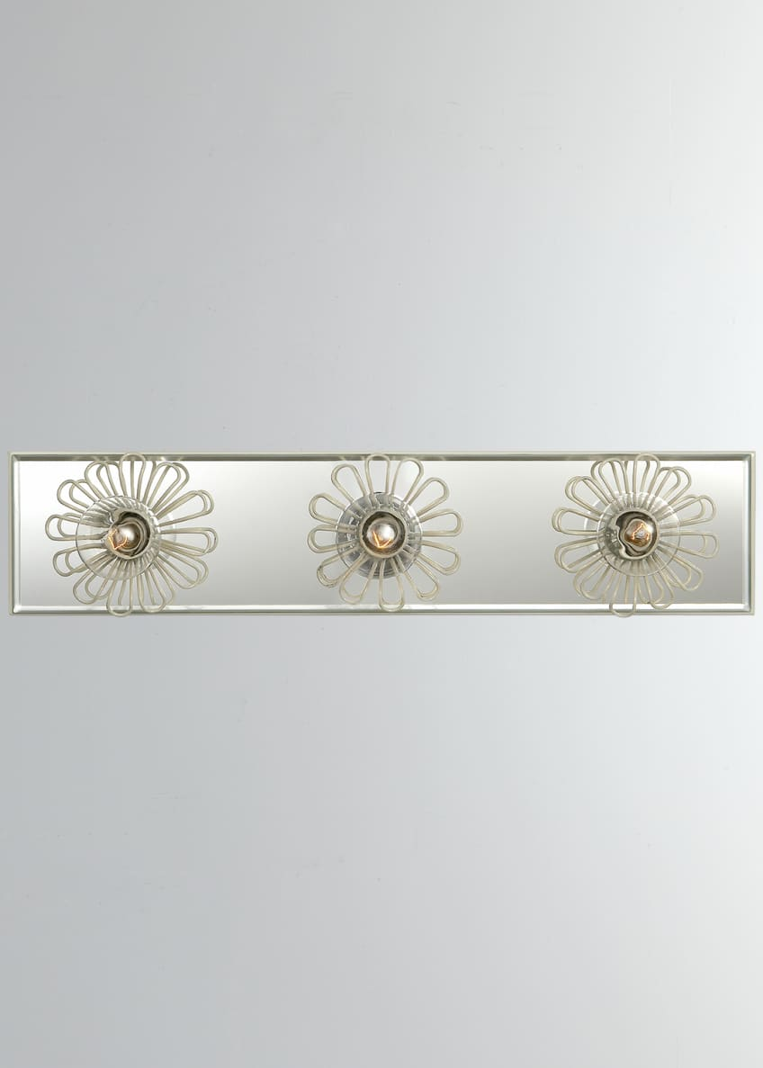 "Image 1 of 1: Keaton 18"" Floral Vanity Light"
