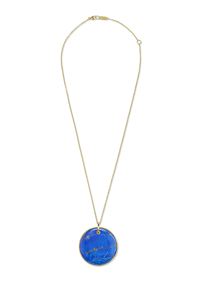 Ippolita 18K Nova Large Disc Pendant Necklace in