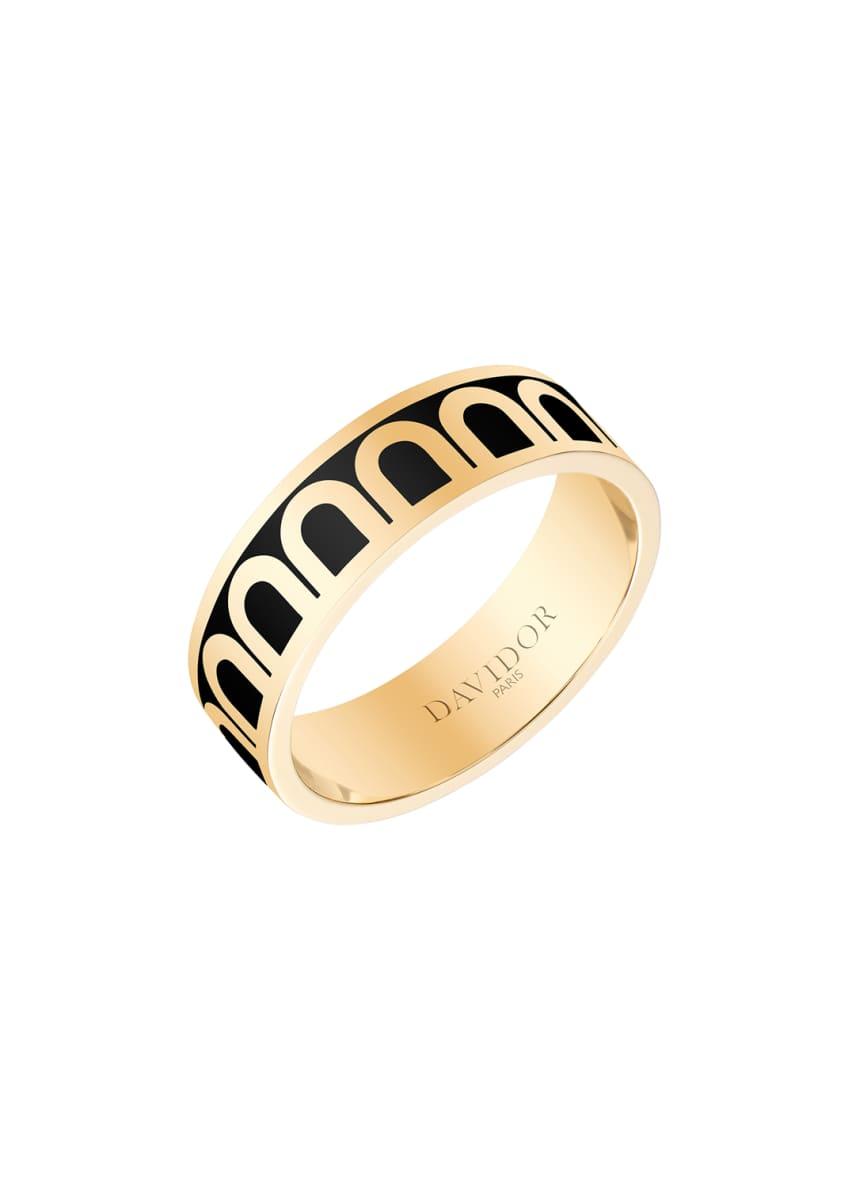 L'Arc de Davidor 18k Gold Ring - Med.