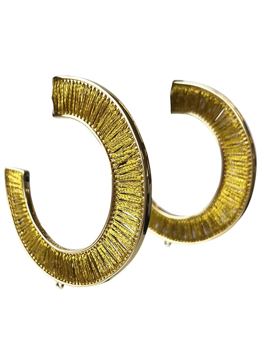 Mignonne Gavigan Fiona Wrapped Hoop Earrings