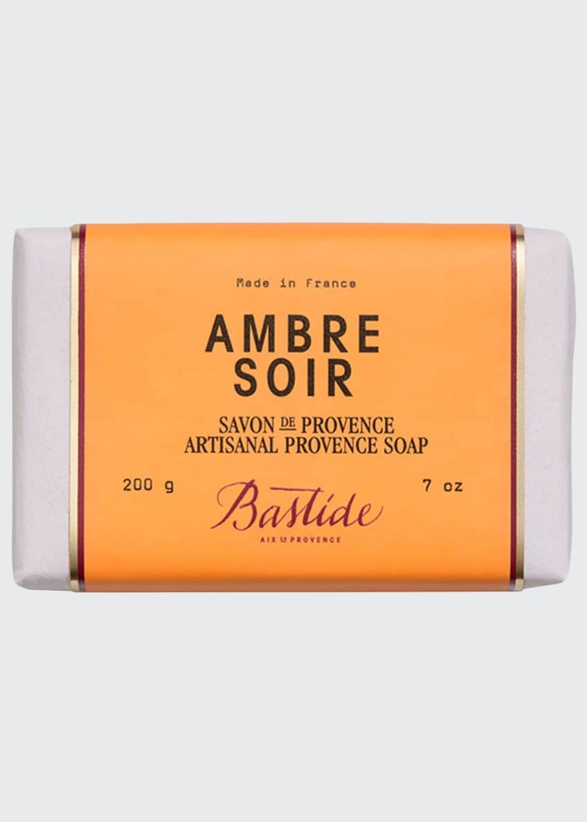 Image 1 of 2: Ambre Soir Artisanal Provence Soap Bar, 7 oz. /200 g