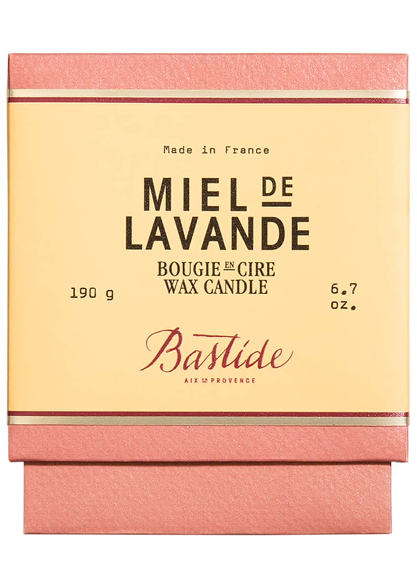 Image 2 of 2: Miel de Lavande Wax Candle, 6.7 oz./ 190 g