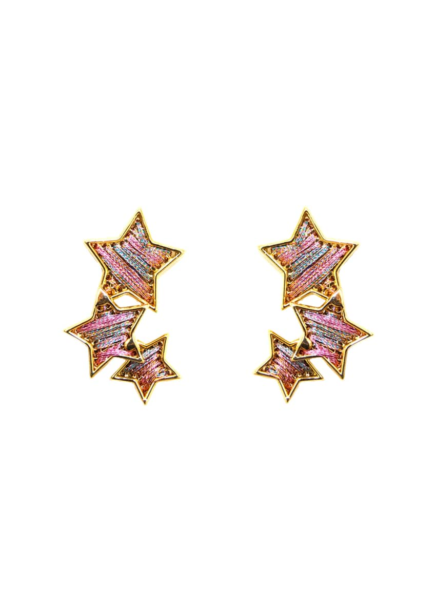 Mignonne Gavigan Threaded Star Earrings