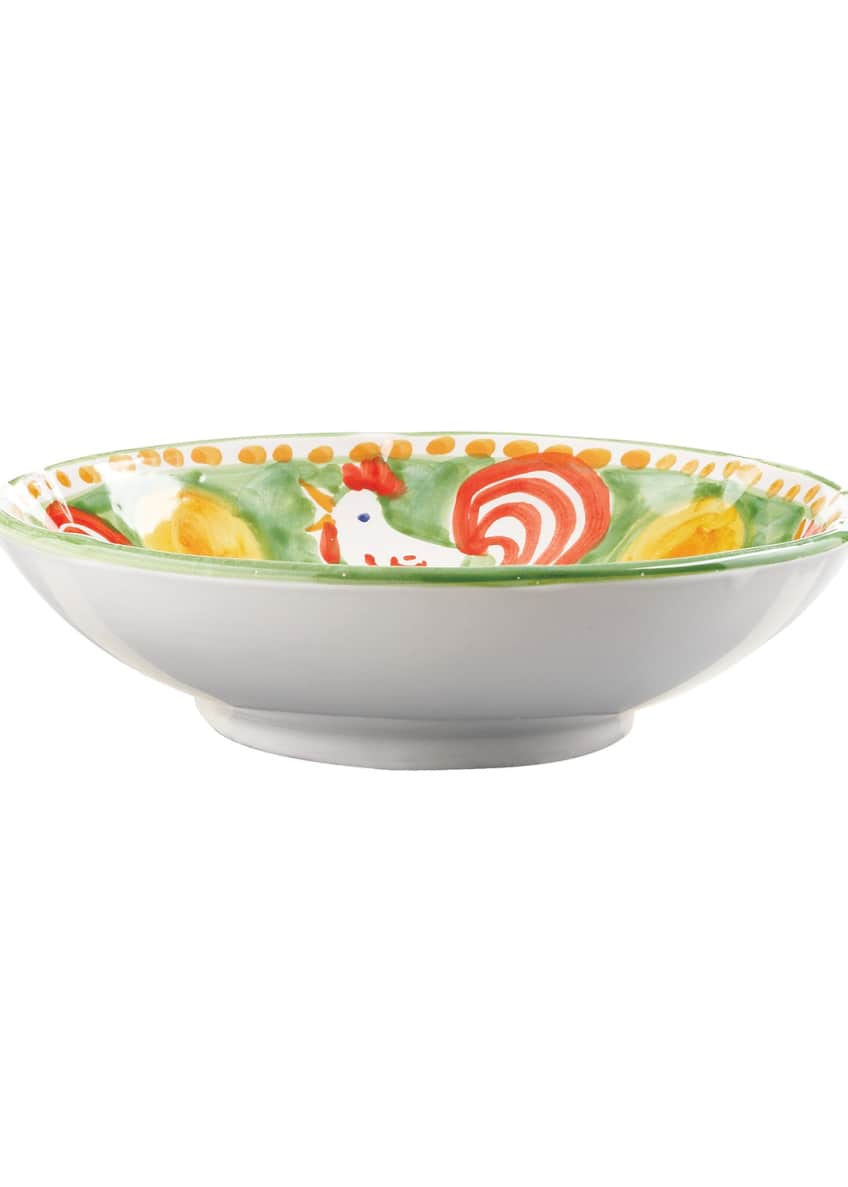 Vietri Gallina Coupe Pasta Bowl