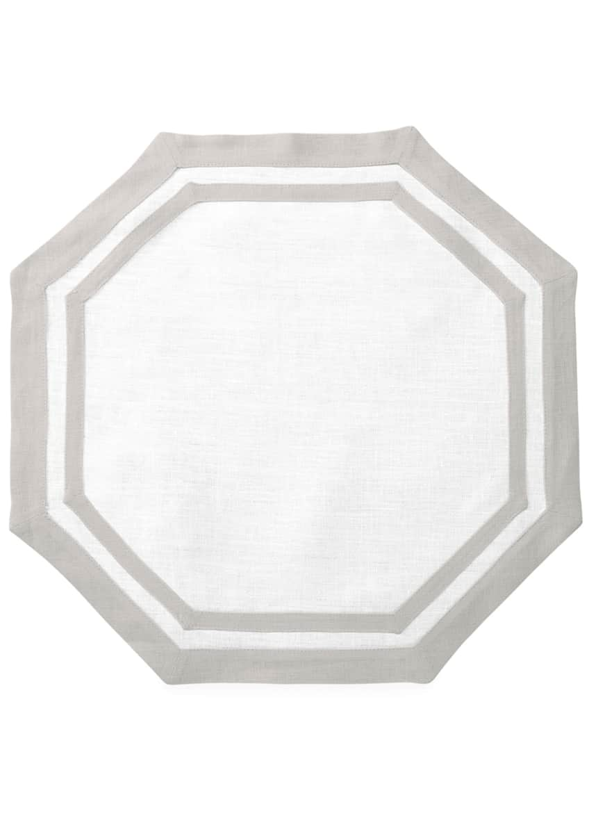 Image 1 of 1: Casual Couture Octagon Placemats, Set of 4