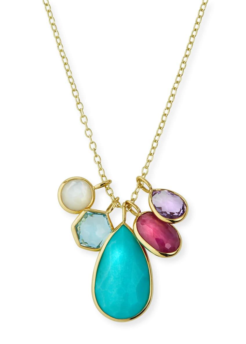 Ippolita 18k 5-Stone Pendant Necklace